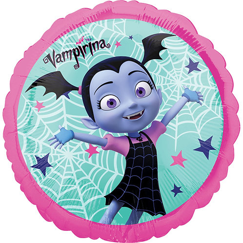 "Vampirina 18"" Foil Balloon With 2 Latex To Match"