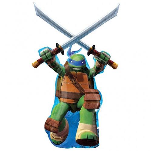 """Ninja turtle Leonardo 43"""" Foil"""