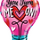 Thumbnail: Large Love Foil Balloon