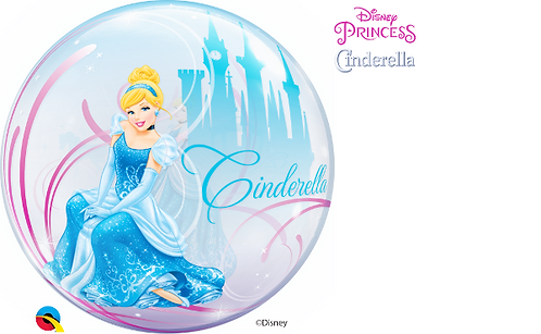 Disney Cinderella Bubble Balloon