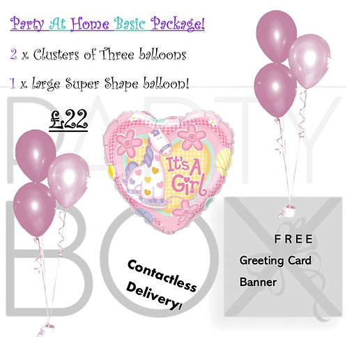 Stay at Home Baby Celebration Pack