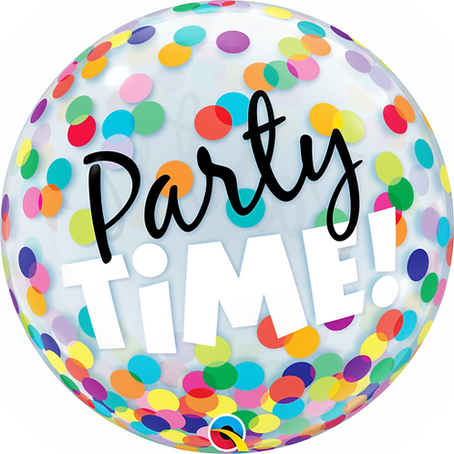 Party Time Bubble Balloon