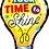 Thumbnail: Large Time To Shine Light Bulb Foil Balloon