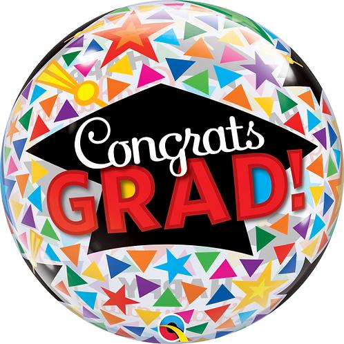 Congrats Grad Bubble Balloon