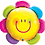 Thumbnail: Large Smiley Flower Face Foil Balloon