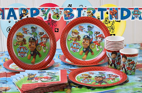 Paw Patrol Party Tableware