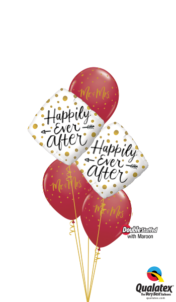 Happily Ever After Foil & Latex Cluster