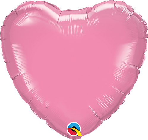 "18"" Pearl Pink Heart Foil Balloon"
