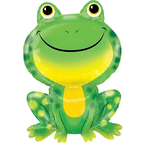 Green Frog Foil