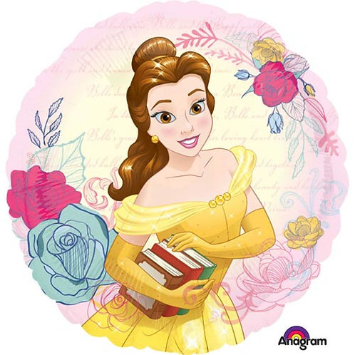 "Disney Princess 18"" Foil With 2 Latex To Match"
