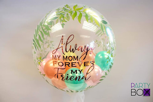 Mothers Day Personalised Bubble