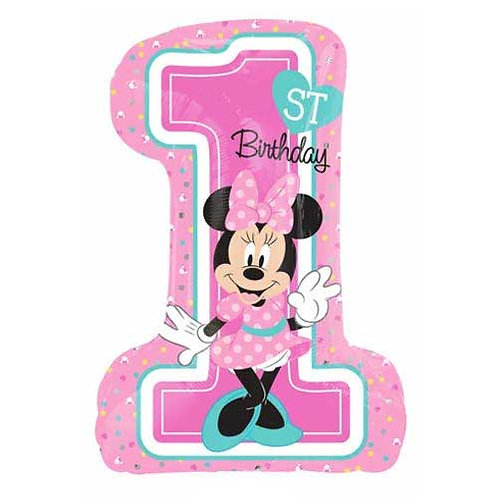 "Minnie Mouse Number 1 28"" Foil"