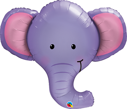 Large Elephant Foil Balloon