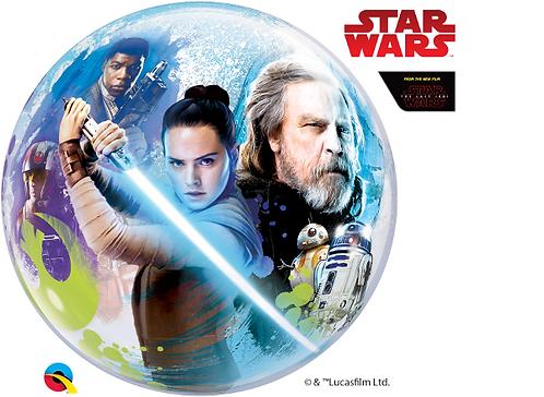 Star wars Last Jedi Bubble Balloon