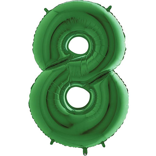 "Green 34""Number 0 - 9 Foils"