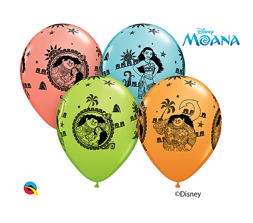 Disney Moana Clusters of 3