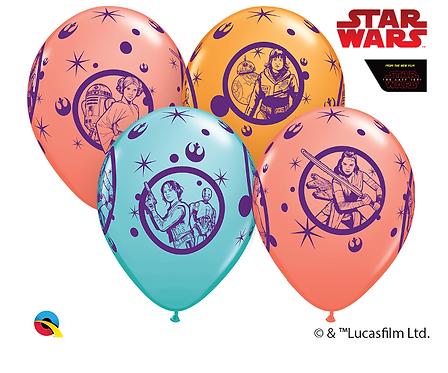 Star Wars Leia, Rey, Jyn & Rose Clusters of 3