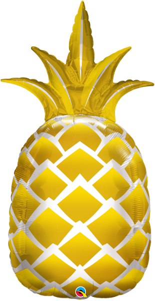 Large Pineapple Foil Balloon