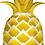 Thumbnail: Large Pineapple Foil Balloon