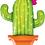 Thumbnail: Large Cacti Foil Balloon