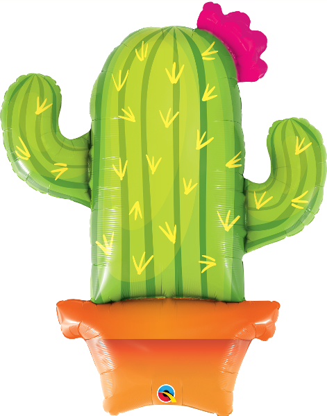 Large Cacti Foil Balloon
