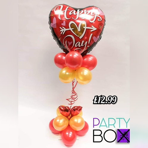 Valentines Heart Column