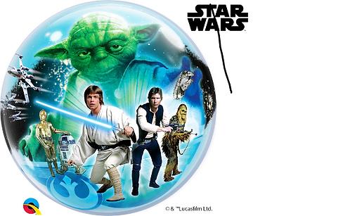 Star Wars Bubble Balloon
