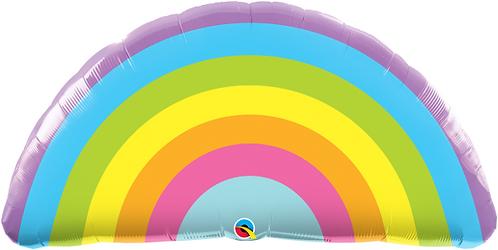 Large Rainbow Foil Balloon