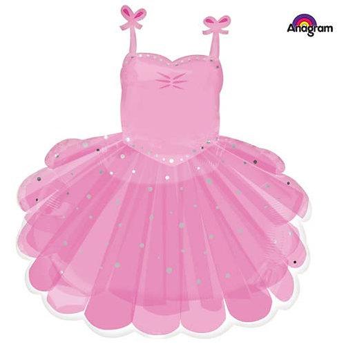 Pink Dress Foil