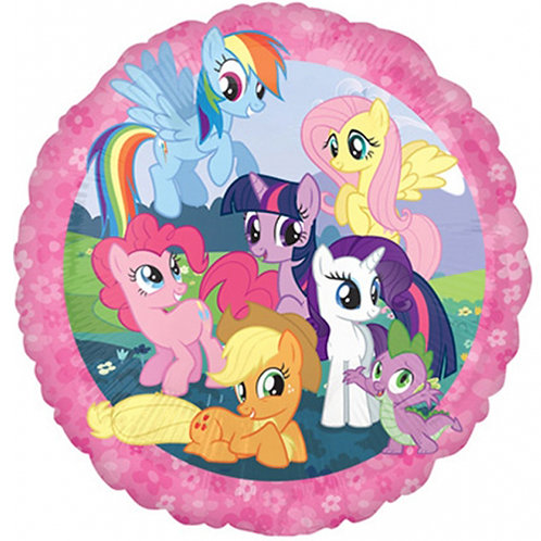"""My Little Pony 2 18"""" Foil With 2 Latex To Match"""