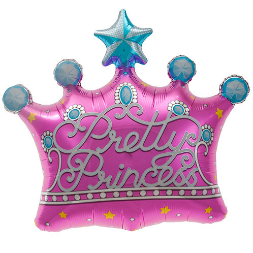 Pretty Princess Crown Foil