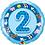 Thumbnail: Aged 1 - 5 Foil & 2 Latex Balloons