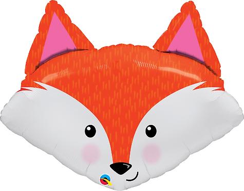 Large Fox Foil Balloon