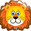 Thumbnail: Large Lion Foil Balloons