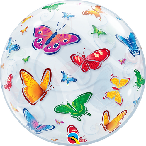 Butterfly Theme Bubble Balloon