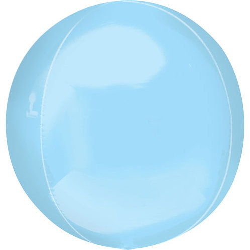 Pastel Blue Orbz Balloon