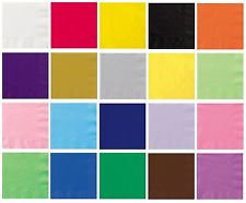 20 x Solid Colour Napkins