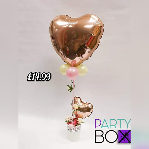 Rose-Gold Luxury Heart