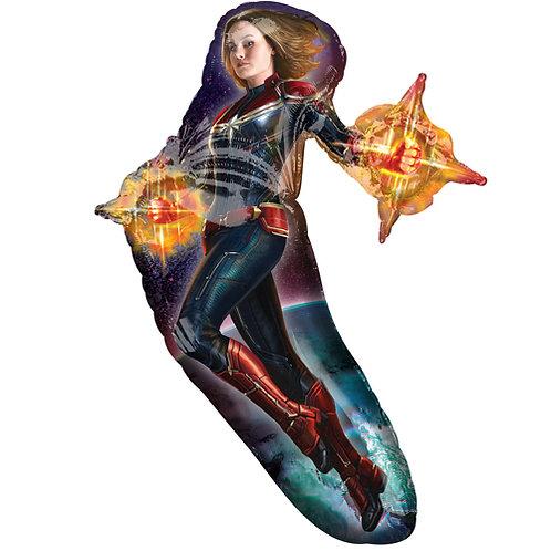 "Captain Marvel 37"" Foil"