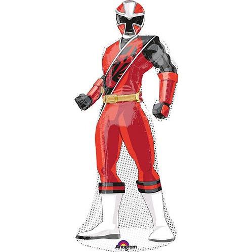 """Red Power Ranger 42"""" Foil"""