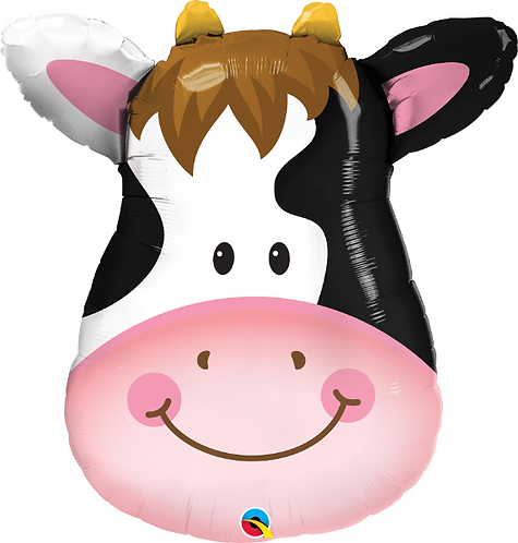 Large Cow Foil Balloon