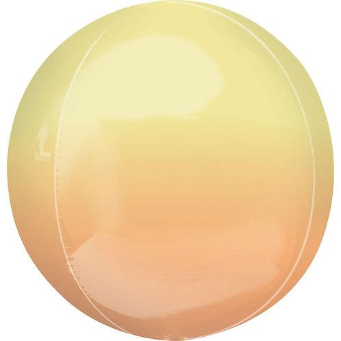 Orange & Yellow Ombre Orbz Balloon