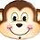 Thumbnail: Large Monkey Foil Balloon