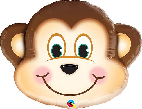 Large Monkey Foil Balloon