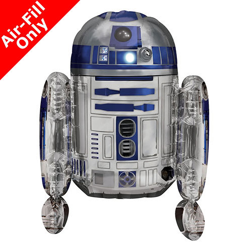 """Starwars R2D2 18"""" Foil"""