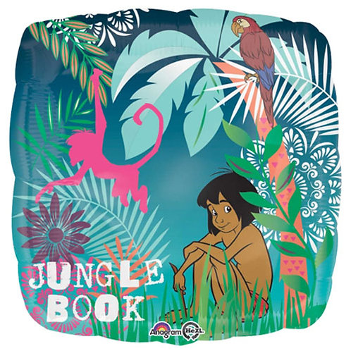 """Jungle Book 18"""" Foil With 2 Latex To Match"""