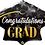 Thumbnail: Large Graduation Hat Foil Balloon