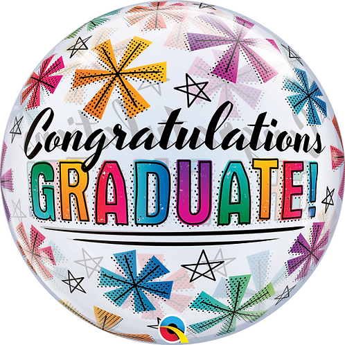 Graduation Bubble Balloon