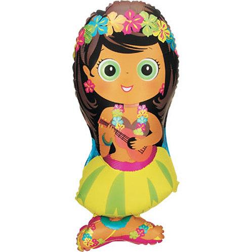 Hula Girl Foil