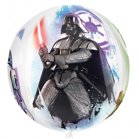 Star wars Darth Vader Orbz Balloon